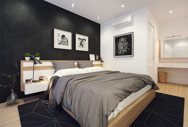 4 mẫu thiết kế nội thất căn hộ nhỏ xinh theo xu hướng mới 15