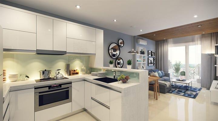 4 mẫu thiết kế nội thất căn hộ nhỏ xinh theo xu hướng mới 18