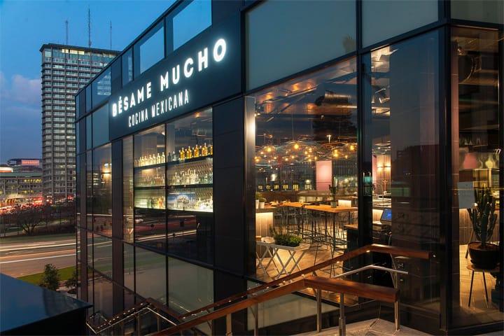 Bésame Mucho - Mẫu thiết kế nội thất nhà hàng ăn uống đẹp 1