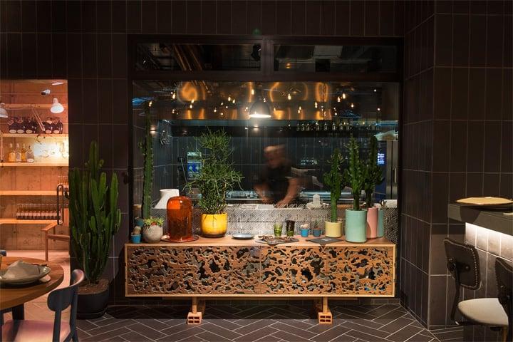 Bésame Mucho - Mẫu thiết kế nội thất nhà hàng ăn uống đẹp 2