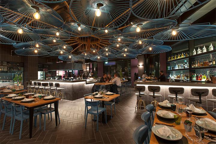 Bésame Mucho - Mẫu thiết kế nội thất nhà hàng ăn uống đẹp 4