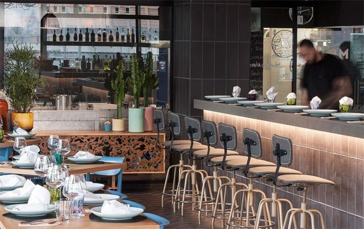Bésame Mucho - Mẫu thiết kế nội thất nhà hàng ăn uống đẹp 6