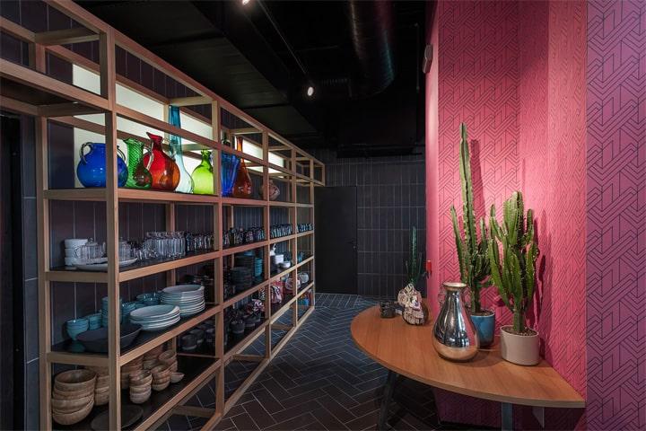 Bésame Mucho - Mẫu thiết kế nội thất nhà hàng ăn uống đẹp 7