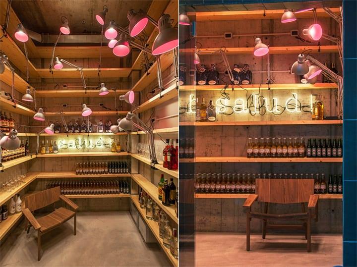 Bésame Mucho - Mẫu thiết kế nội thất nhà hàng ăn uống đẹp 8