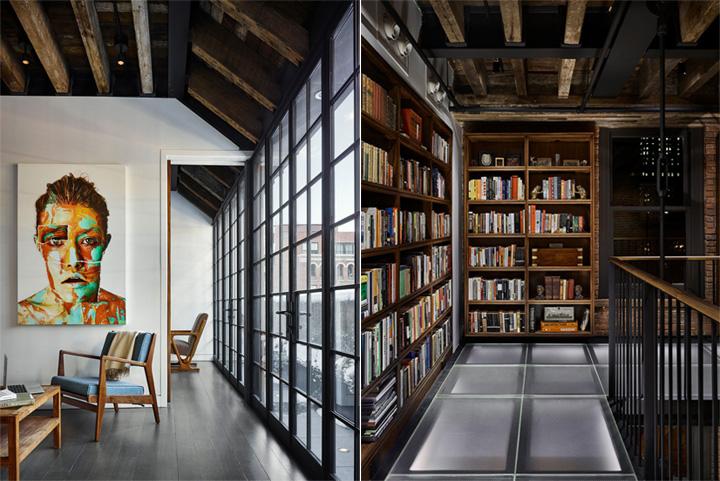 Thiết kế nội thất penthouse mang vẻ đẹp hoài cổ ở New York 3