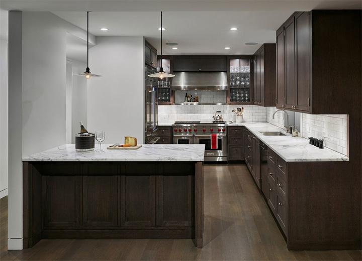 Thiết kế nội thất penthouse mang vẻ đẹp hoài cổ ở New York 4