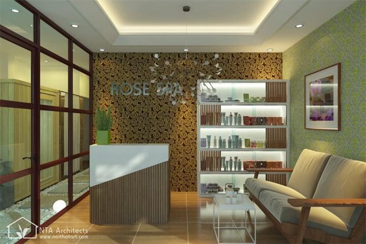 Không gian tiệm nail ấm cúng, sạch sẽ và sang trọng tạo nên sự thoải mái cho khách hàng của bạn