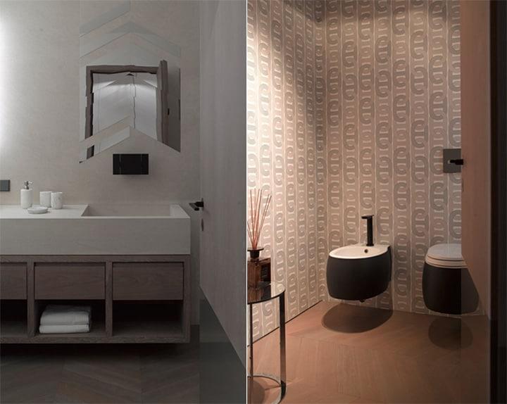 Căn hộ tông màu trắng đen và xám với thiết kế đơn giản sang trọng 11