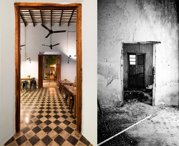 Cải tạo nhà hàng phong cách cổ từ công trình di tích lịch sử 3
