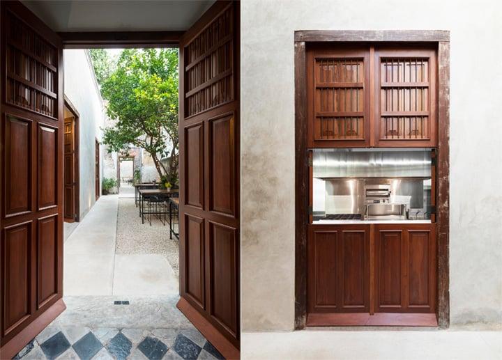 Cải tạo nhà hàng phong cách cổ từ công trình di tích lịch sử 7