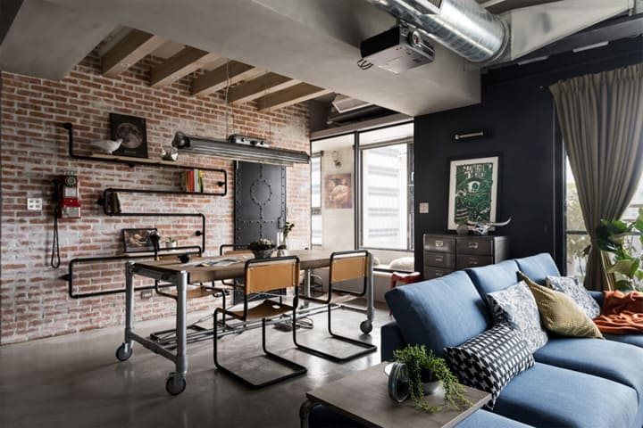 Mẫu thiết kế căn hộ loft đẹp dành cho mèo và chủ của chúng 15
