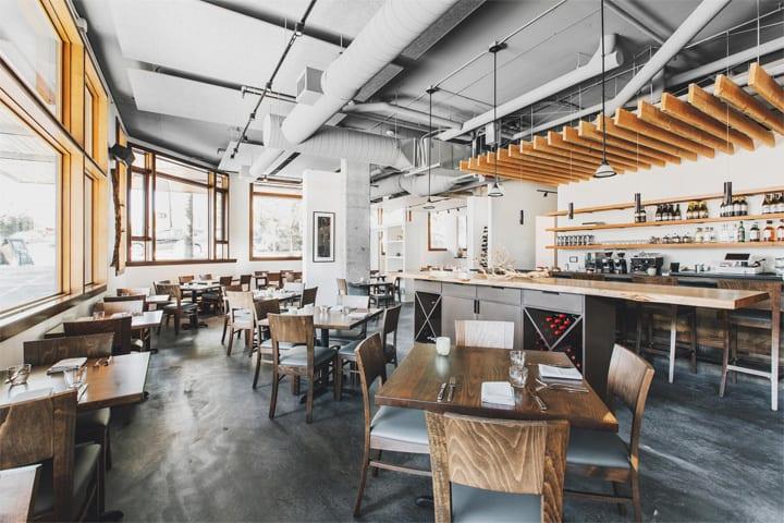 Copine - Mẫu nhà hàng độc đáo mang vẻ đẹp của vật liệu thô 2