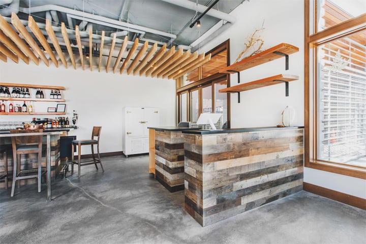 Copine - Mẫu nhà hàng độc đáo mang vẻ đẹp của vật liệu thô 5