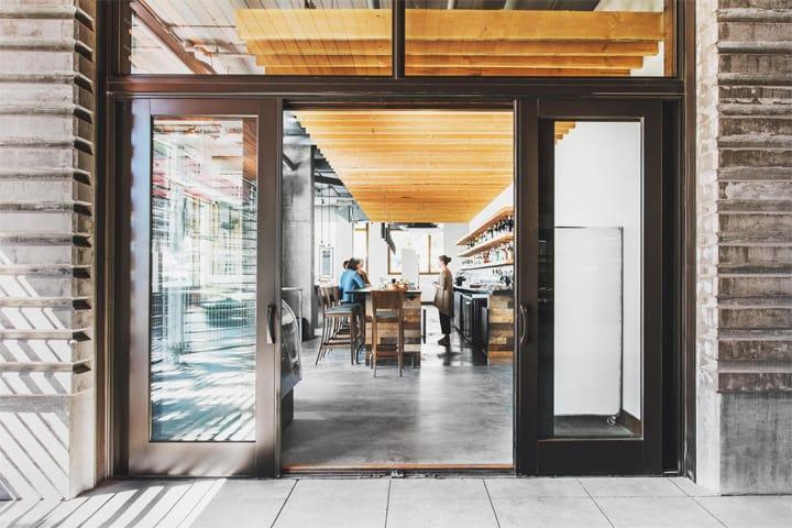 Copine - Mẫu nhà hàng độc đáo mang vẻ đẹp của vật liệu thô 4
