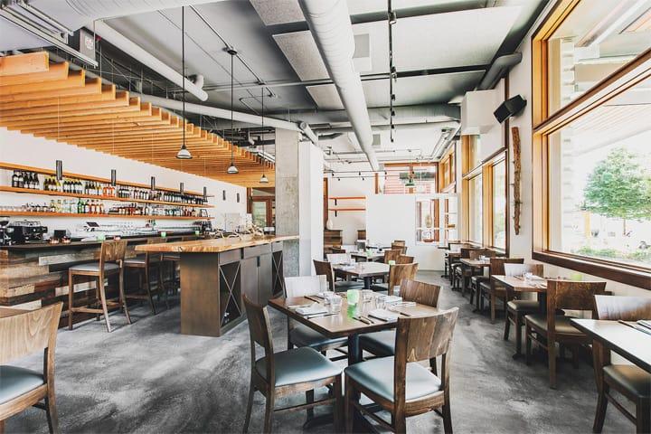 Copine - Mẫu nhà hàng độc đáo mang vẻ đẹp của vật liệu thô 1
