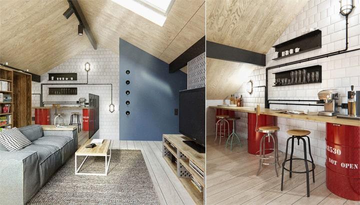 Căn hộ 3 tầng phong cách Scandinavi dành cho chủ nhân cá tính 10
