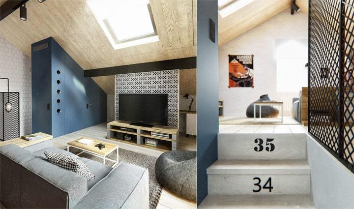 Căn hộ 3 tầng phong cách Scandinavi dành cho chủ nhân cá tính 11
