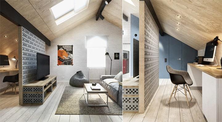 Căn hộ 3 tầng phong cách Scandinavi dành cho chủ nhân cá tính 12
