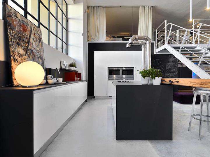 Mẫu thiết kế căn hộ đẹp và sáng tạo từ những nghệ sĩ phong cách 7