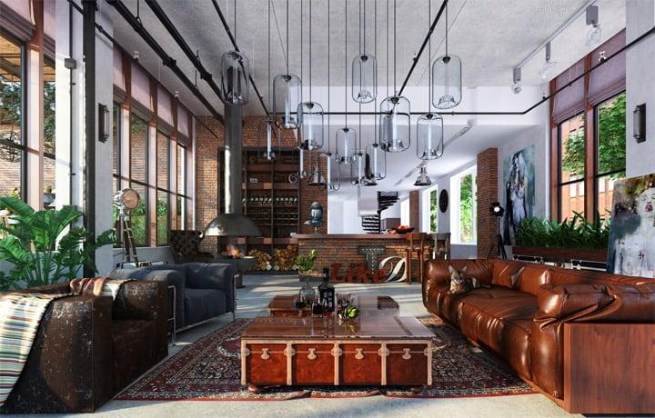 Mẫu thiết kế căn hộ đẹp và sáng tạo từ những nghệ sĩ phong cách 12