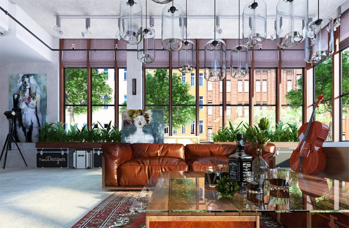 Mẫu thiết kế căn hộ đẹp và sáng tạo từ những nghệ sĩ phong cách 13