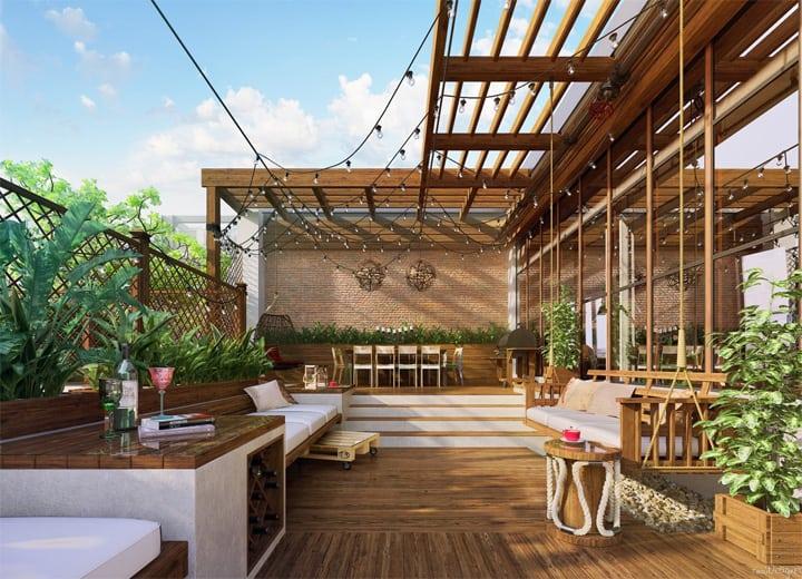 Mẫu thiết kế căn hộ đẹp và sáng tạo từ những nghệ sĩ phong cách 16