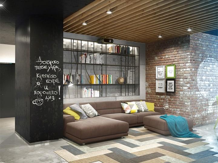 Mẫu thiết kế căn hộ đẹp và sáng tạo từ những nghệ sĩ phong cách 17