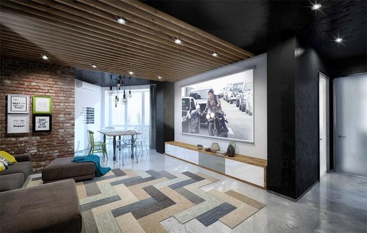 Mẫu thiết kế căn hộ đẹp và sáng tạo từ những nghệ sĩ phong cách 19