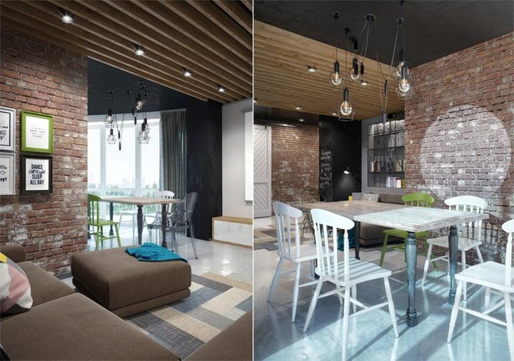 Mẫu thiết kế căn hộ đẹp và sáng tạo từ những nghệ sĩ phong cách 20