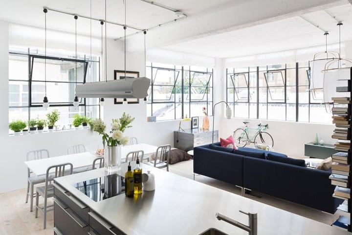 Cải tạo không gian công nghiệp thành một căn hộ đầy nắng xinh đẹp 8