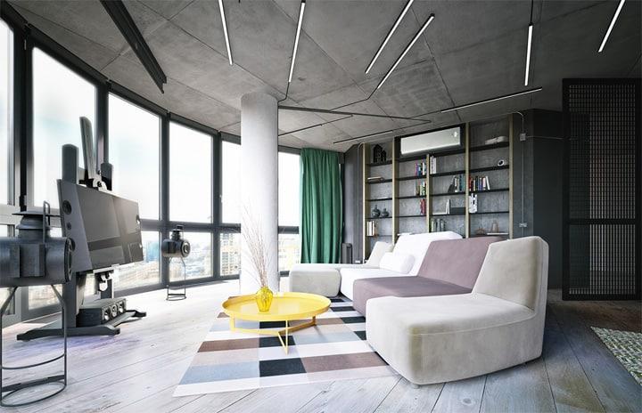 3 mẫu căn hộ phong cách thiết kế công nghiệp sành điệu 15