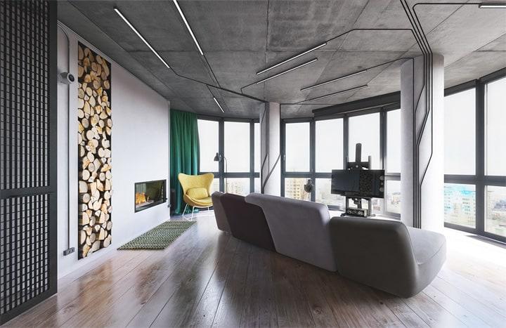 3 mẫu căn hộ phong cách thiết kế công nghiệp sành điệu 16