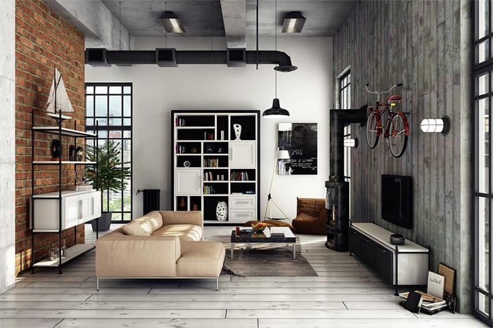 3 mẫu căn hộ phong cách thiết kế công nghiệp sành điệu 10