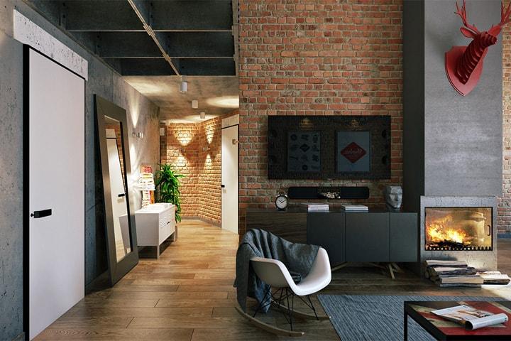 3 mẫu căn hộ phong cách thiết kế công nghiệp sành điệu 4