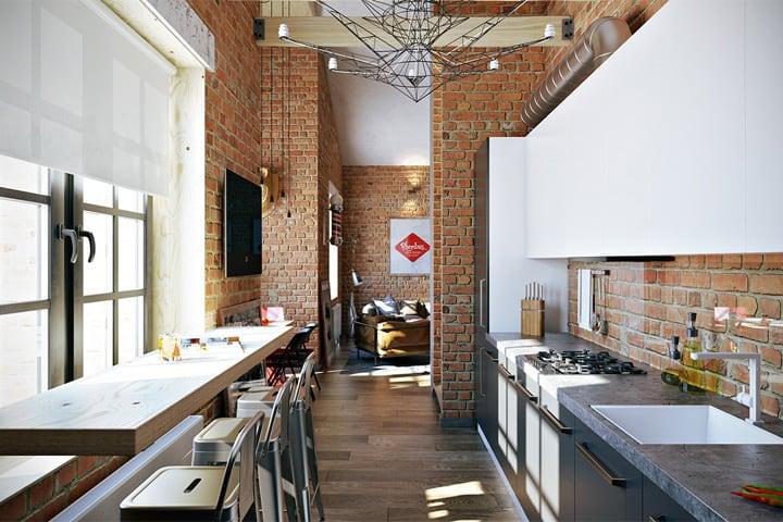 3 mẫu căn hộ phong cách thiết kế công nghiệp sành điệu 8