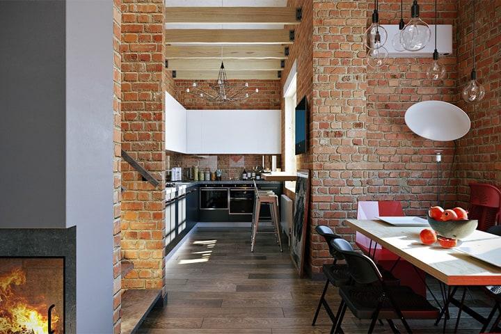 3 mẫu căn hộ phong cách thiết kế công nghiệp sành điệu 9