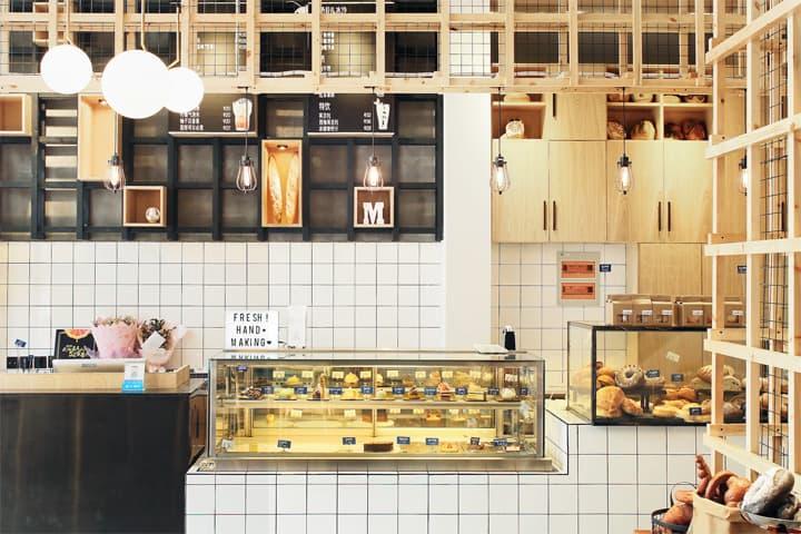 Nhà hàng Beauty Free Baking - Phong cách công nghiệp thu hút 4