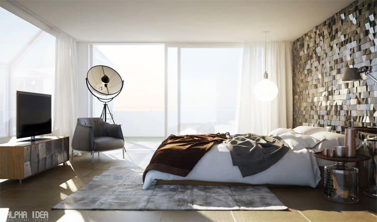 Mỗi buổi sáng thức dậy trong căn phòng ngập tràn ánh nắng sẽ giúp bạn có một khởi đầu ngày mới thật rạng ngời, bạn nhỉ?
