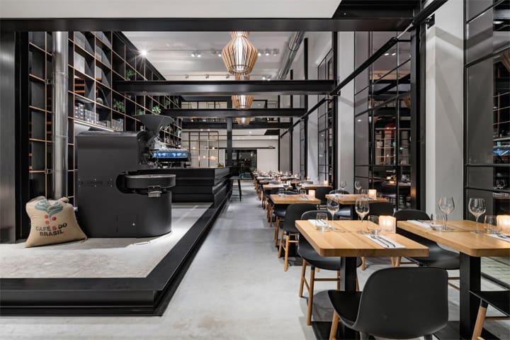 Vẻ đẹp hiện đại lôi cuốn với dự án cải tạo nhà hàng cafe Capriole 2