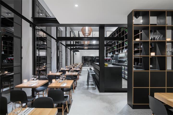 Vẻ đẹp hiện đại lôi cuốn với dự án cải tạo nhà hàng cafe Capriole 5