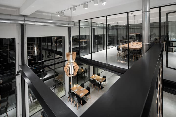 Vẻ đẹp hiện đại lôi cuốn với dự án cải tạo nhà hàng cafe Capriole 7