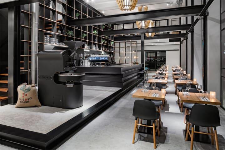 Vẻ đẹp hiện đại lôi cuốn với dự án cải tạo nhà hàng cafe Capriole 11