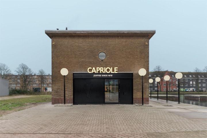 Vẻ đẹp hiện đại lôi cuốn với dự án cải tạo nhà hàng cafe Capriole 15