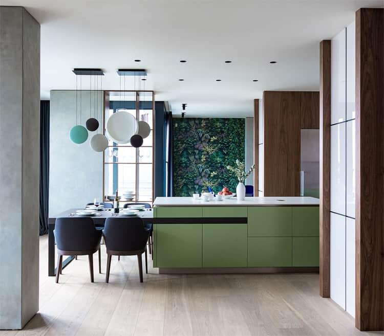 Mẫu nhà đẹp ở Kiev theo phong cách thiết kế nội thất hiện đại 9