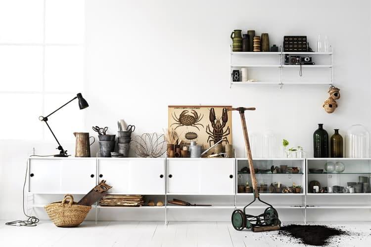 Các vật liệu tự nhiên rất được ưa chuộng trong thiết kê nội thất theo phong cách Scandinavian này