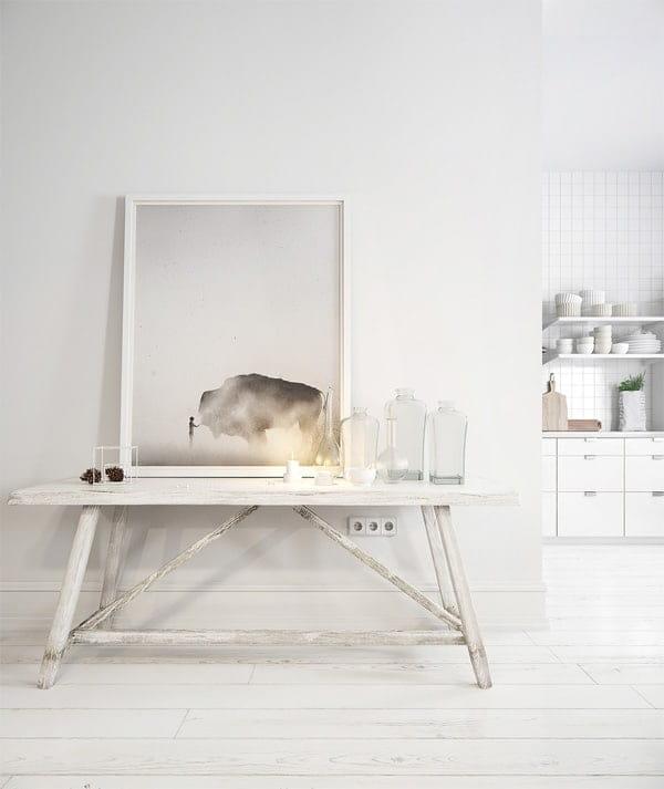 Ánh sáng luôn là yếu tố rất được xem trọng trong concept thiết kế phong cách Scandinavian
