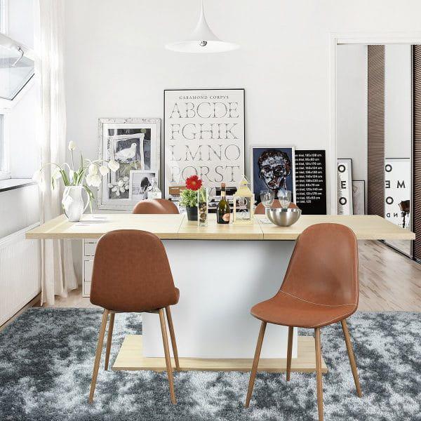 50 mẫu ghế hiện đại kết hợp bàn ăn HOT nhất hiện nay 4
