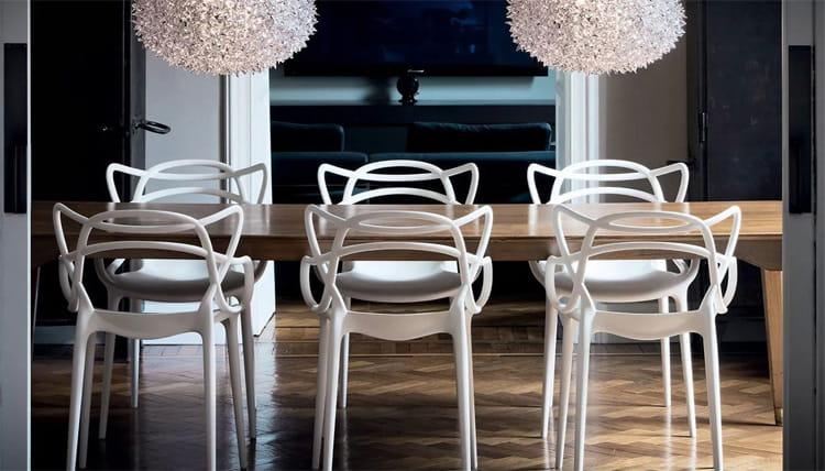 50 mẫu ghế hiện đại kết hợp bàn ăn HOT nhất hiện nay 2