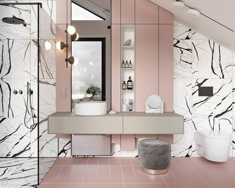 Xu hướng trang trí phòng tắm đẹp và sang trọng nhất hiện nay