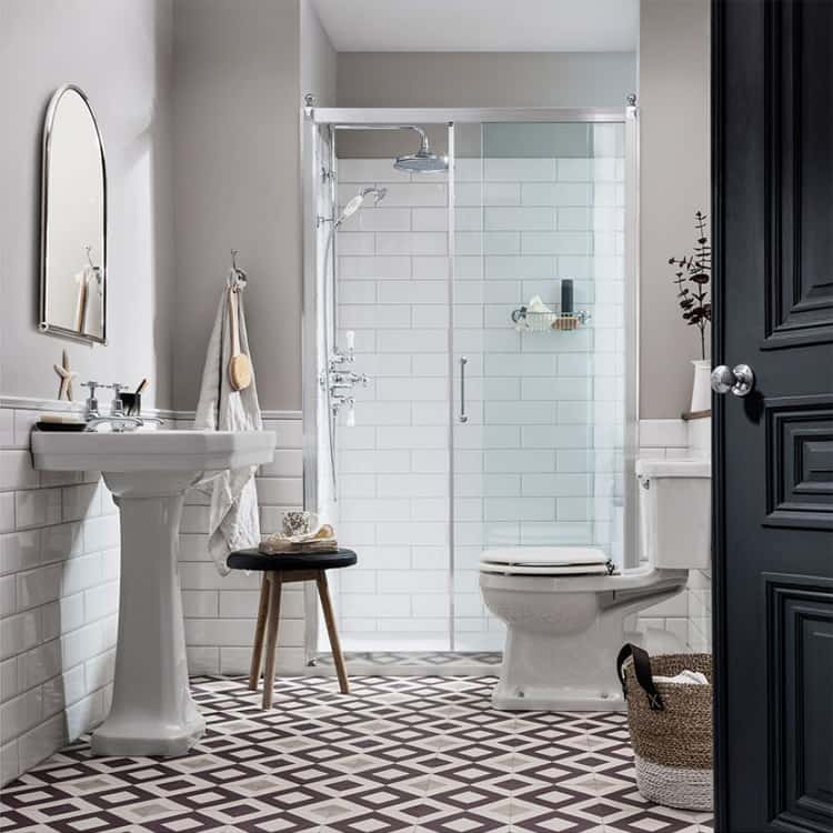 Phong cách phòng tắm cổ điển vẫn được yêu thích như trước